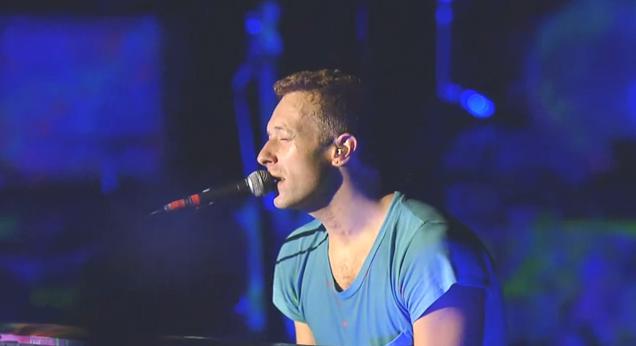 Coldplay at the Hollywood